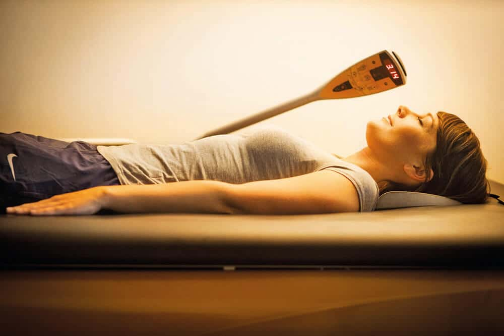 Wassermassagebett im Body Culture Fitnessstudio in Darmstadt