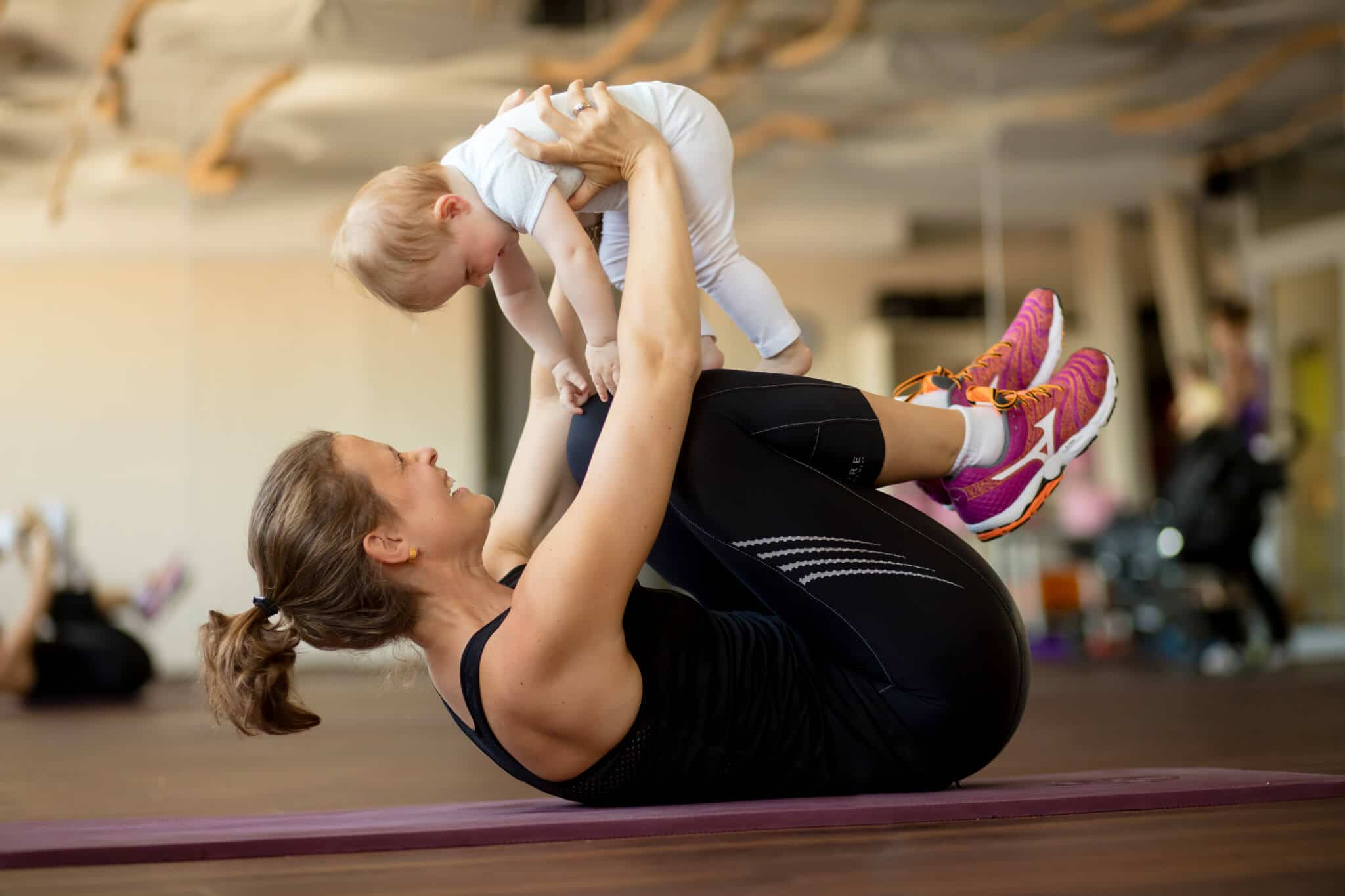 Kursangebot für Mütter und Kinder im Body Culture Darmstadt