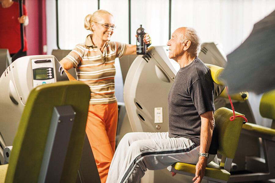 Muskeltraining für die Gesundheit im Body Culture Fitnesscenter Darmstadt