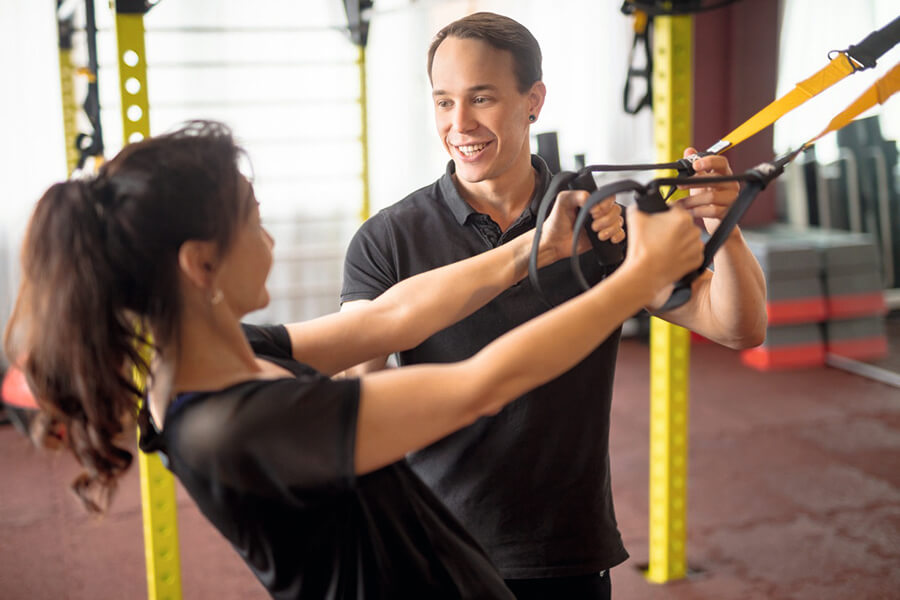 Individuelle Trainingsbetreuung im Body Culture Fitnessstudio