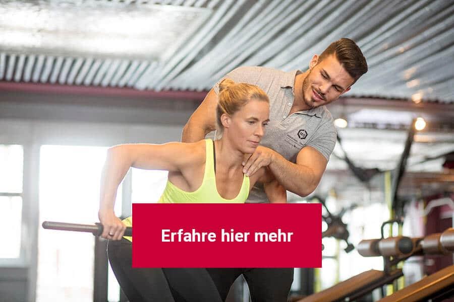 Mann und Frau beim Personal Training in Darmstadt