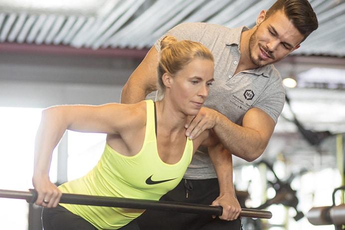 Probetraining Betreuung mit Trainer im Body Culture